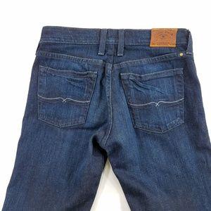 Lucky Brand Straight Dark Wash Denim Jeans Pants